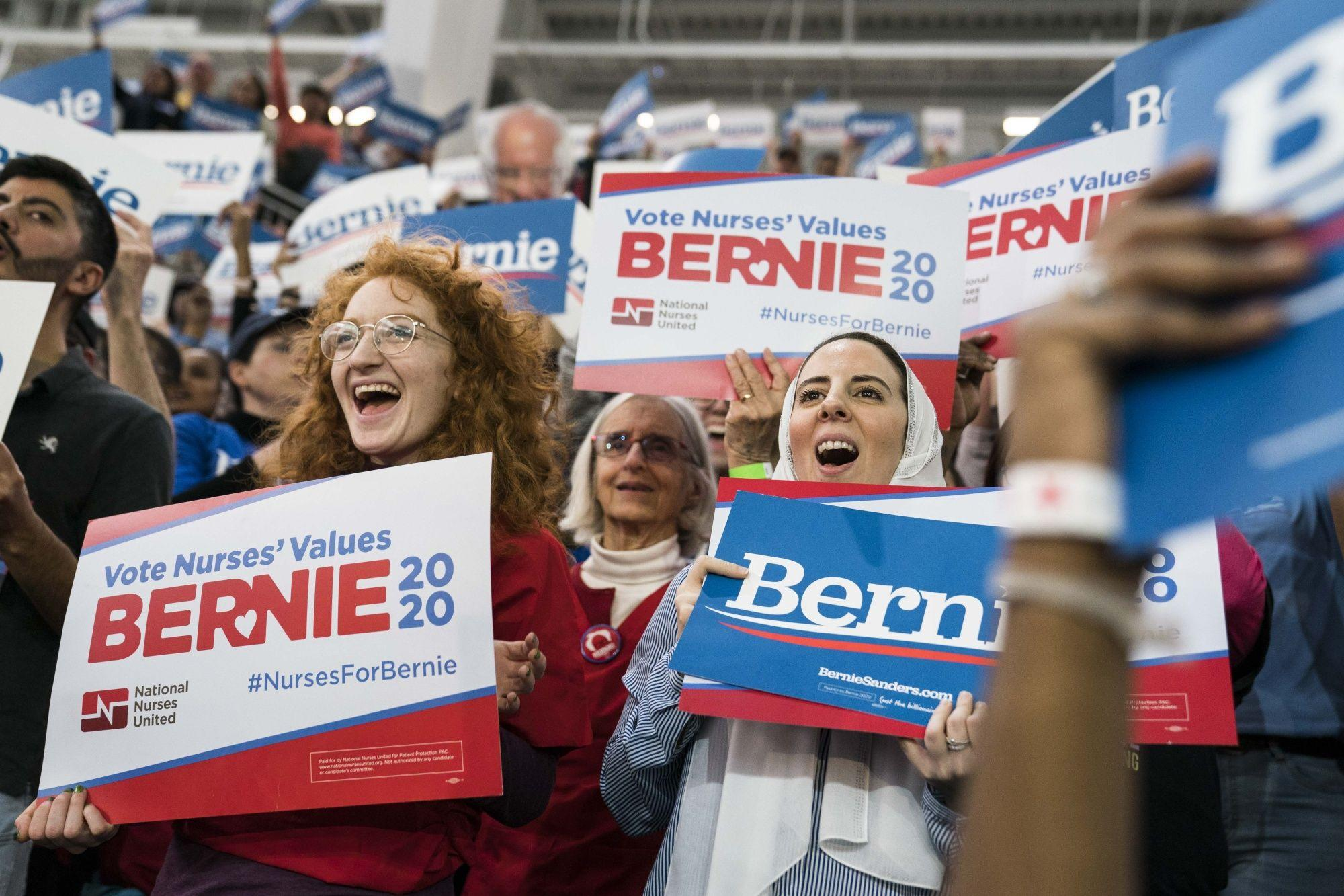 Sanders Supporters Have No Plans to Relent on Biden as Nominee