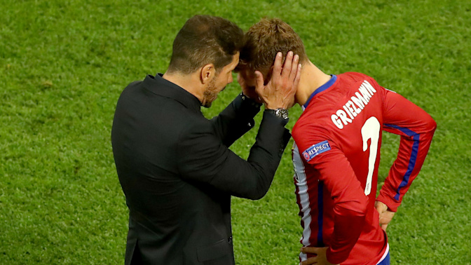 Manchester United target Griezmann could leave at any time, admits Simeone