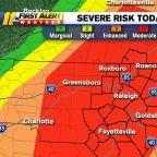 Severe storms expected across NC on Friday, tornadoes possible