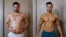 YouTuber faz um vídeo incrível com lapso de tempo mostrando sua transformação corporal ao longo de três meses