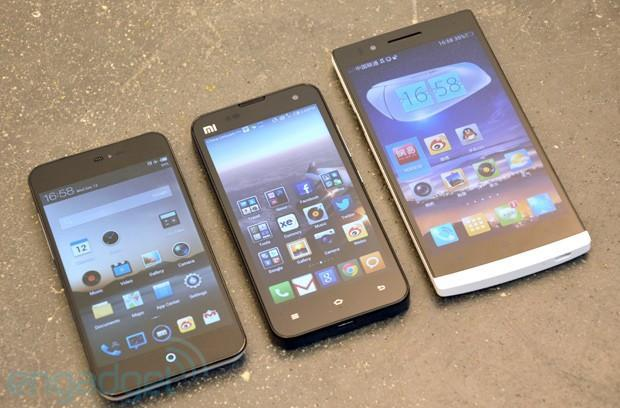 Inevitable: Oppo Find 5 meets Xiaomi Phone 2 and Meizu MX2