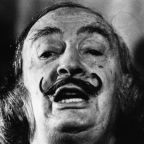 Salvador Dalí's Mustache Intact 28 Years After His Death