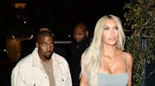 Kim Kardashian Wears a Bra, Kanye West Wears Sweatpants to Kendall Jenner's Birthday Dinner