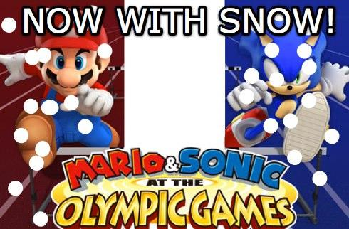 Rumor: Sonic and Mario going to the Winter Olympics