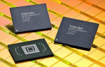 Toshiba launches 32GB embedded NAND for PMPs and handsets