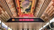 一改形象 紐約地鐵變身圖書館車廂