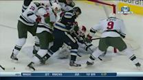 Nick Foligno jams it home on the backhand