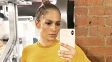 Jennifer Lopez, 50, wows fans with sweaty gym selfie: 'Perfect body'