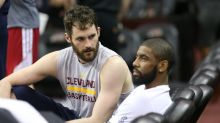 Kevin Love appears to subtweet Kyrie Irving after trade request