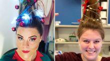 Wissens-Adventskalender: Türchen 22 - Diese verrückten Weihnachtsbaum-Frisuren musst du gesehen haben