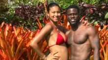 Kevin Hart's Pregnant Wife Shows Off Her Figure on Vacation