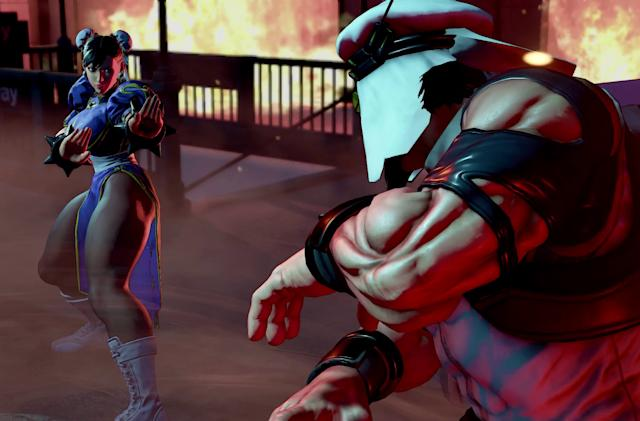 'Street Fighter V' will feature the series' first full story mode