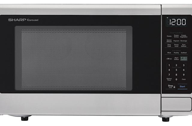 Sharp's first Alexa-ready microwave ovens are optimized for popcorn