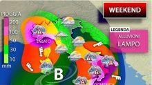 Meteo, in arrivo ciclone atlantico fine settimana con pioggia