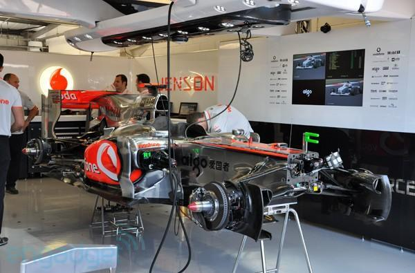 British Grand Prix: A rare glimpse behind the McLaren-Mercedes F1 team (video)