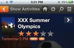 BuddyTV Guide adds Olympics 2012 quick list to help viewers find the events they want