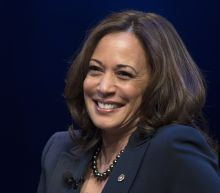 Kamala Harris in a snapshot