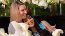 Glee star Heather Morris honours Brittany and Santana relationship after Naya Rivera death