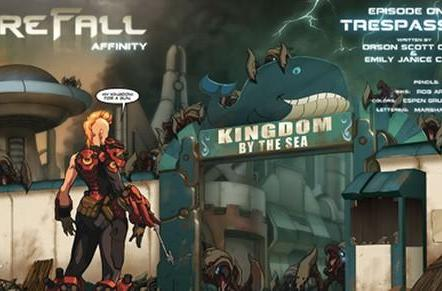 Red 5 unveils part one of Firefall manga, shuts down ARG [Updated]