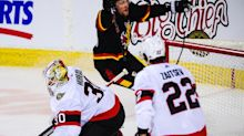 SNAPSHOTS: The Ottawa Senators take time for a reset after 7-3 loss... Flames win but fire coach Geoff Ward anyway