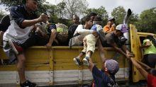 Migrants moving again in Guatemala, Trump targets Democrats