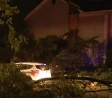 Large late-night tornado sweeps through some Chicago suburbs