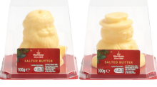 Santa and snowman-shaped butter has returned to Morrisons for Christmas