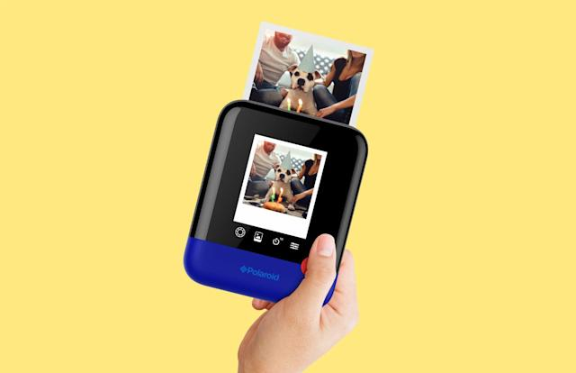 Polaroid Pop is a modern take on the company's iconic camera