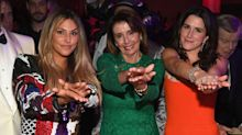 Nancy Pelosi gets rock star treatment at Clive Davis gala