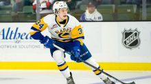 Blackhawks draft Colton Dach, younger brother of Kirby, at No. 62 overall