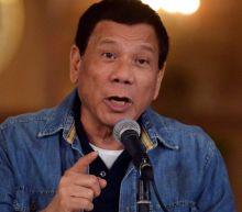 Philippine President Rodrigo Duterte backs same-sex marriage