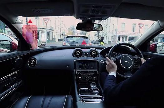 Jaguar's smart windshield will eliminate blind spots