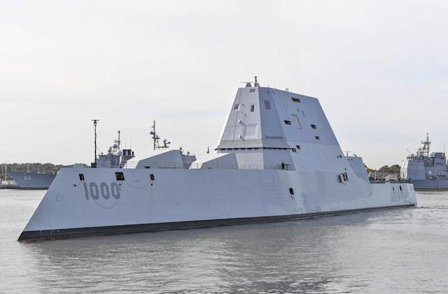 The USS Zumwalt can't afford its own $800,000-per-round ammo