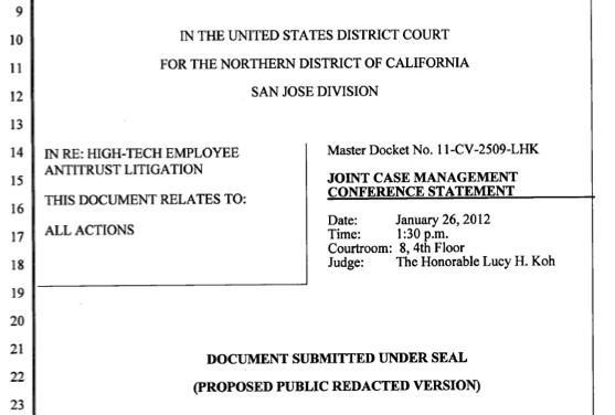 Antitrust suit carries on against Intel, Apple, Google and others