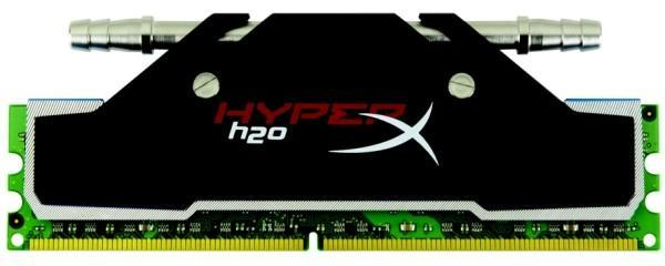 Kingston dives headfirst into water-cooling with HyperX H2O memory