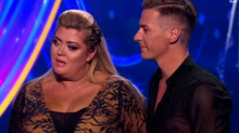 'Dancing on Ice': Gemma Collins comes crashing down in painful live fall - but which celeb fans got behind her?