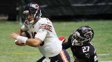 Mitch Trubisky says he'll support Nick Foles following Week 3's benching