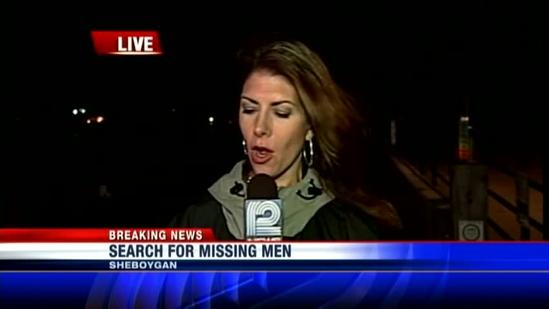 Search for 2 missing in Lake Michigan suspended