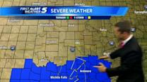 Wednesday night forecast: Stormy night