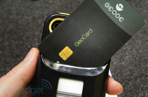 iCache Geode digital wallet hands-on (video)