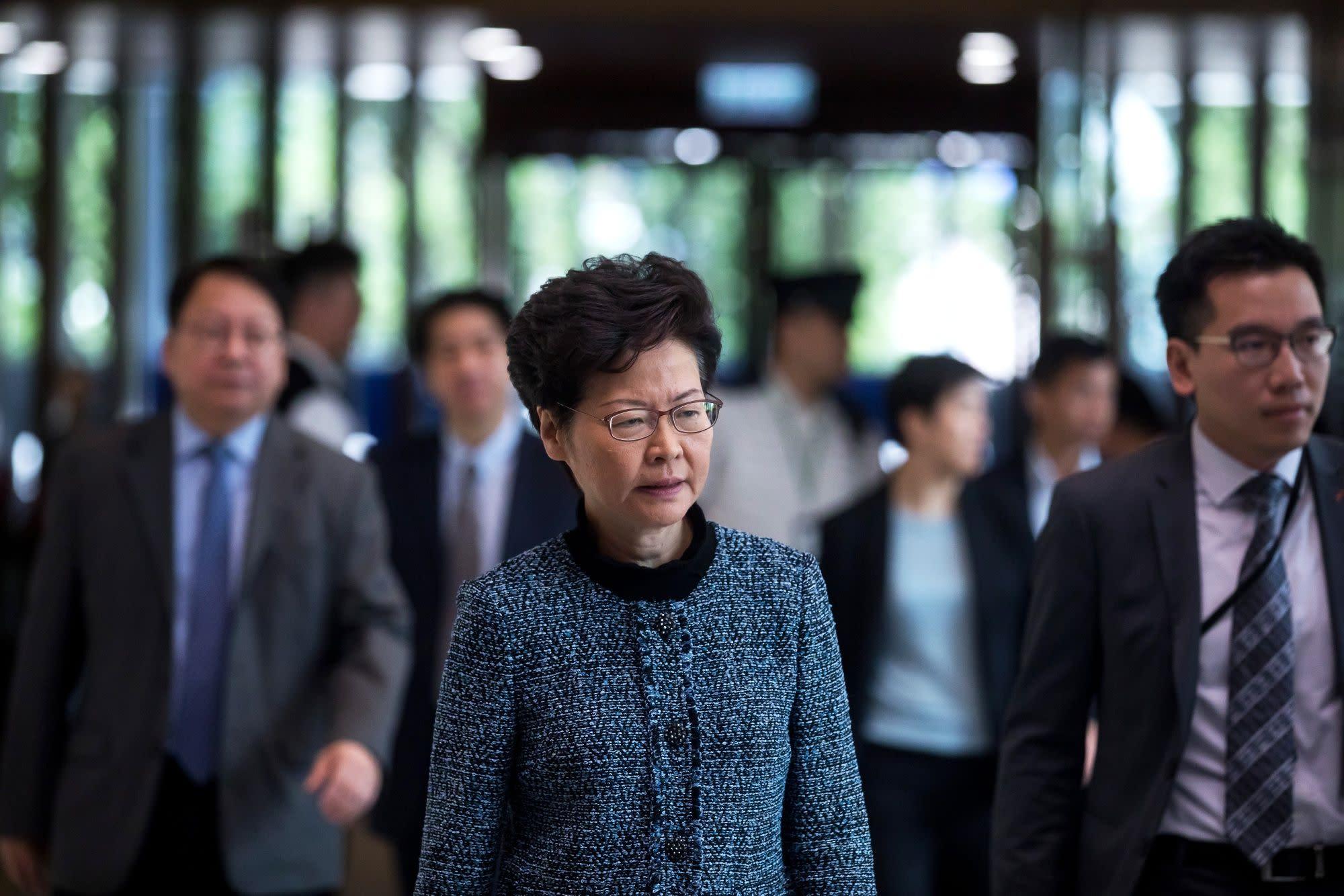 China's Xi Backs Lam's Leadership Amid Hong Kong Protest Chaos