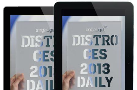 Distro's CES 2013 Daily Issue 73.1 is hot off the digital press