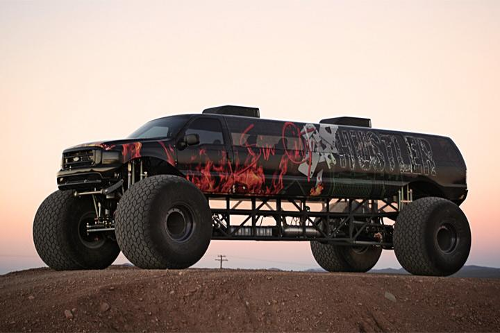 Got 1 Million To Spend This Limousine Monster Truck Might Be For You