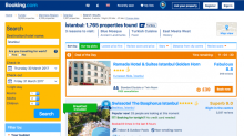 Turkey has banned Booking.com but the website isn't backing down