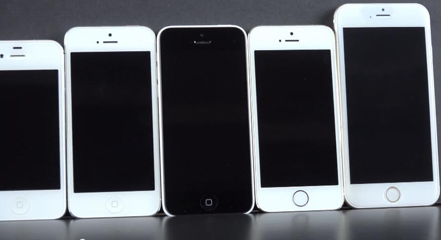 iPhone 6 model compared to every other iPhone in new high ...