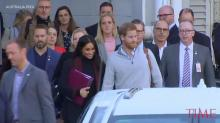 Prince Harry and Meghan Markle Arrive in Australia to Start 16-Day Pacific Tour