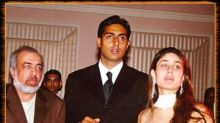Nostalgic Abhishek Bachchan shares his first big moment from Refugee's premiere night