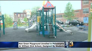 Philadelphia School Students Have New Green Space To Play In