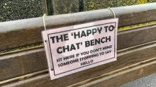 Police create 'chat benches' to combat loneliness, 'help make life a little better'