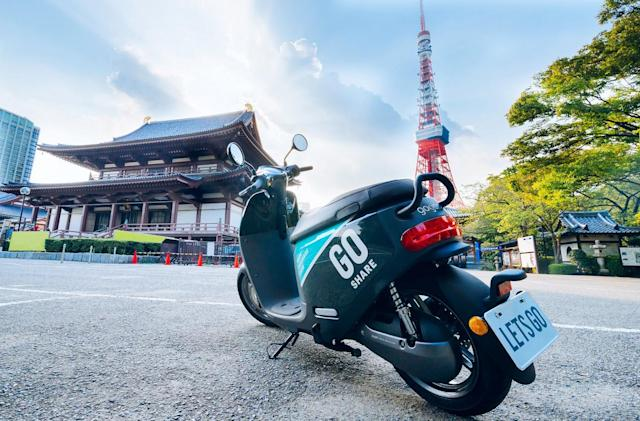 Gogoro's electric scooter-sharing program is coming to Japan